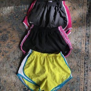 Size Small Nike Running Shorts Bundle
